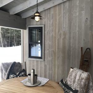 "8"" Traditional Barnwood Siding - Silver Stone"